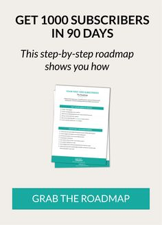 Get Your First 1000 Email Subscribers in 90 Days