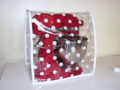 Polka Clear PVC Food Mixer Cover KMix Kitchen by KitschNCrafts, £19.95