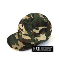 Expedition Field Camo 5 Panel by Obey | Find it at www.hatlocker.com  #obey #expedition #camo