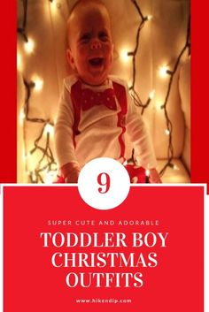 80894436d590 Super Cute Toddler Boy Christmas Outfits that will steal your heart away