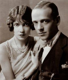 "Fred & Adele Astaire 1917 ~ Fred always replied when asked: 'Who was the best partner you ever danced with.? ""My sister Adele""."