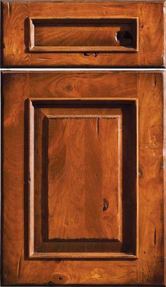 Mountain Resort Design | Rustic Kitchen Design | Dura Supreme Cabinetry