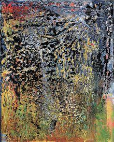 Gerhard Richter Gerhard Richter Painting, European Paintings, Art For Art Sake, Texture Art, Beach Art, Famous Artists, Figurative Art, Amazing Art, Awesome