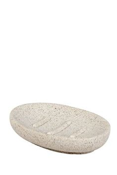 """If you are looking to accent your bathroom with a natural look, this resin soap dish has a sandstone finish for an earthy aesthetic. The spout is easily removable for refilling.<div class=""""pdpDescContent""""><BR /><b class=""""pdpDesc"""">Dimensions:</b><BR />L11xW11xH2 cm</div>"""