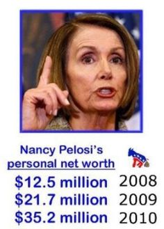 """HOW???   300% increase over two years?      And we're worried about Romney's tax returns?  When will Americans DEMAND an end to special interests in OUR govt? SHE DIDN'T EARN THAT! Must be where Barry got that!  When California cut the water to over 200 family farms in the """"Bread Basket of Calif"""" - SHE ASTILL HAD WATER AT HER VINEYARD.  CAN YOU   DIG IT? THEY LOSE THEIR FARMS, FARM WORKERS LOST THERI JOBS, BUT SHE GREW GRAPES!!!"""