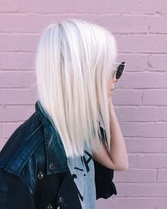 """Blonde Hair Colour Studios on Instagram: """"Our fave platinum blonde beauty @for_thedreamers colour by viva la blonde using @lorealpro"""""""