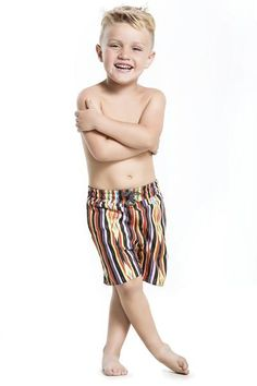 Agua Bendita Tasco swimsuit is cut from great quality fabric. #swimshorts #boysclothes #designerkids