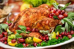 Love this Turkey Platter decoration