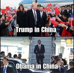 Trump arranges for a several million dollar publicity stunt in China while Obama is there to do business. Sounds about right Saint Yves, Hypocrite, Trump Train, Thing 1, First Lady Melania, Conservative Politics, Compare And Contrast, All Family, Sarcasm