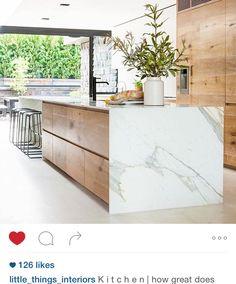 Materials l Marble + Wood