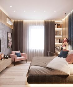 Interior design is the best thing you can do for your home Modern Bedroom Design, Home Room Design, Contemporary Bedroom, Home Interior Design, Bedroom Designs, Modern Interior, Exterior Design, Home Decor Bedroom, Living Room Decor