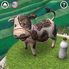 """Aula Pirata on Instagram: """"⭐️REALIDAD AUMENTADA⭐️ Siguiendo la temática de la vaca, nos propusieron hacer esta actividad, haciendo uso de la app @quivervision (si no la…"""" Quiver, Piggy Bank, Community, Christmas Ornaments, Holiday Decor, Instagram, Augmented Reality, Pirates, Cow"""