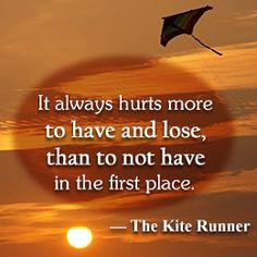 Quote from 'The Kite Runner' - K. Hosseini