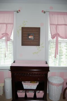 Nursery Art with Ultrasound Picture & Convertible Changer