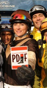 Chantal Sutherland abruptly calls it quits as jockey