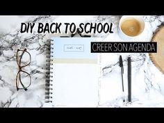 """DIY """"BACK TO SCHOOL"""" 2016 - Créer son Agenda ! - YouTube"""