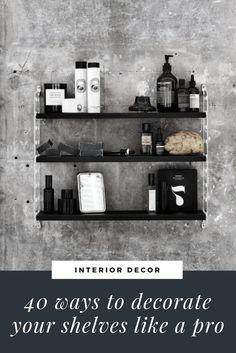 How to style a #stringpocket shelving system, how to decorate your shelves like a pro. Interiors tips and ideas for bedroom decor.