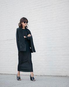 #monochrome #black #chic #style #fashion