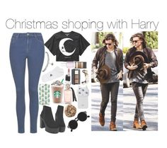 """""""Christmas shoping with Harry"""" by rosita562 ❤ liked on Polyvore featuring Wet Seal, Topshop, adidas, Novo, MAC Cosmetics, H&M, Valfré, Wet n Wild, Essie and Retrò"""