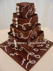 Contemporary Cake Designs - Chocolate cakes