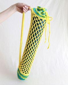 Maggie's Crochet · Yoga Mat Bag Crochet Pattern