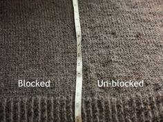 Blocking Techniques for #knit or #crochet by ksrose