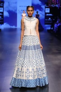 Shop from an exclusive range of luxurious wedding dresses & bridal wear by Anita Dongre. Bring home hand-embroidered wedding wear in colors inspired by nature. Luxury Wedding Dress, Wedding Wear, Indian Wedding Outfits, Sari Fabric, Ethnic Fashion, Bridal Dresses, Runway Fashion, Lace Skirt, High Waisted Skirt