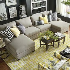 11 Best Double Chaise Sectional Images