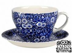 Calico Burleigh Pottery