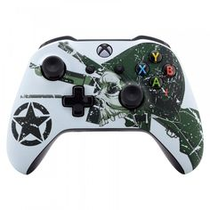 Custom Xbox One Controller, Xbox Controller, Consoles, Xbox Accessories, Game Wallpaper Iphone, Gaming Room Setup, Xbox One S, Blue Flames, Cool Tech
