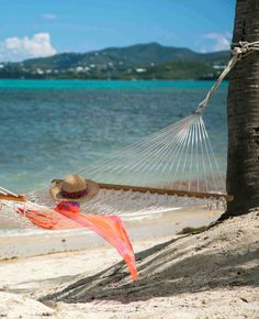 Sugar Beach Resort has oceanfront hammocks just waiting for you. It's time to visit St Croix!
