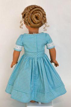 American Girl 18 Inch Historical Doll Dress by JennyWrensDressShop