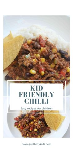 This delicious chilli con carne for kids will become a firm favourite with your family. It's full of flavour without being too spicy and has lots of hidden vegetables in it. #chilli #kids #child friendly #dinner #family dinner #easy meal #midweek meal #fussy eater #hidden veg #healthy Quick Weeknight Dinners, Easy Family Dinners, Easy Meals, Hidden Vegetables, Chilli Recipes, Child Friendly, Kids Meals, Spicy, Dinner Recipes