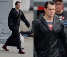 Veja a primeira imagem de Henry Cavill em BATMAN V. SUPERMAN (ATUALIZADO)