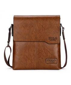 57805b4118ef Shoulder Bag Business Man Bag Messenger Bag for Men Crossbody Bag - khaki -  C917YLZ43DA. Promotional BagsMen ...