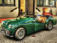 87 best vintage cars images on pinterest in 2018 old school cars triumph old car old style retro vintage old cabriolet car green thecheapjerseys Images