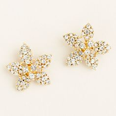 J. Crew Daffodil stud earrings