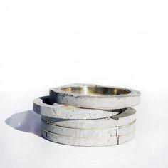 concrete jewelry More