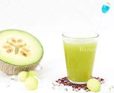 Melon Natural Juice Fresh Juice Recipes, Cantaloupe, Natural Juice, Fruit, Juices, Healthy, Tableware, Glass, Book