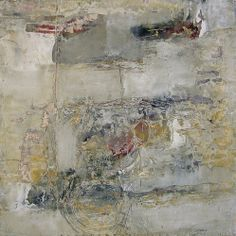 Her Secret Unfinished Business, by Jeane Myers mixed media on panel, 16x16 www.jeanemyers.com