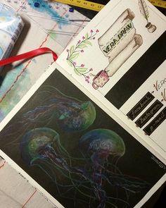 Vera Draw (@vera.draw) • Fotky a videa na Instagramu Insta Art, Bullet Journal, Ink, Drawings, Artwork, Color, Work Of Art, Auguste Rodin Artwork, Colour