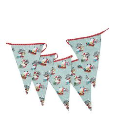 Take a look at this Vintage Christmas Bunting by Rex International Ltd on #zulily today!