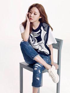 Gong Hyo Jin Korean Star, Korean Girl, Korean Celebrities, Celebs, Pop Fashion, Fashion Outfits, Gong Hyo Jin, Yoo Ah In, Korean Actresses