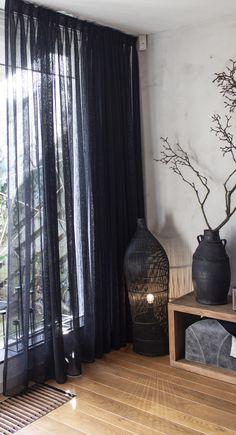 Apartment Curtains, Home Curtains, Diy Apartment Decor, Curtains With Blinds, Interior Design Curtains, White Interior Design, Luxurious Bedrooms, Room Decor Bedroom, Decoration