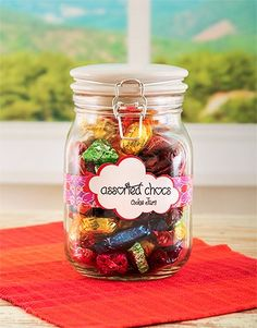 Provide your employees, clients, and buyers the recognition they will ought to have! by using industrial gifts. Same Day Delivery Service, Quality Street, Jar Gifts, Candy Jars, Office Gifts, Corporate Gifts, Mother Day Gifts, Mason Jars, Birthday Gifts