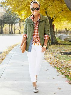 How Real Women Wear Army Jackets - How To Wear The Military Trend - Redbook