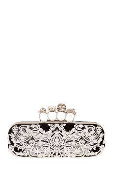 Accessories - Collections - Vogue - Vogue love the knuckle clutch
