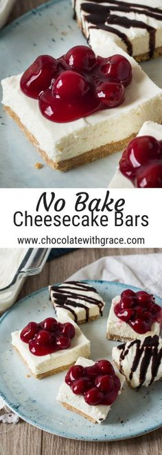 This no bake cheesecake recipe is a perfect summer dessert. Simple and quick to make, there are endless ways to customize it. We love it with chocolate drizzle or fruit topping. Baked Cheesecake Recipe, No Bake Cheesecake, Chocolate Cheesecake, Chocolate Desserts, Chocolate Drizzle, Raspberry Cheesecake, Pumpkin Cheesecake, Summer Cheesecake, Simple Cheesecake