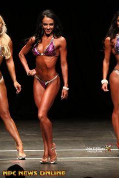 Amanda Bucci Bikini Class B (1st) Overall (1st) 2015 NPC ...
