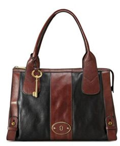 2c601f46c6c8 Fossil Handbag, Vintage Reissue Top Zip Satchel Fossil Satchel, Fossil Bags,  Fossil Handbags